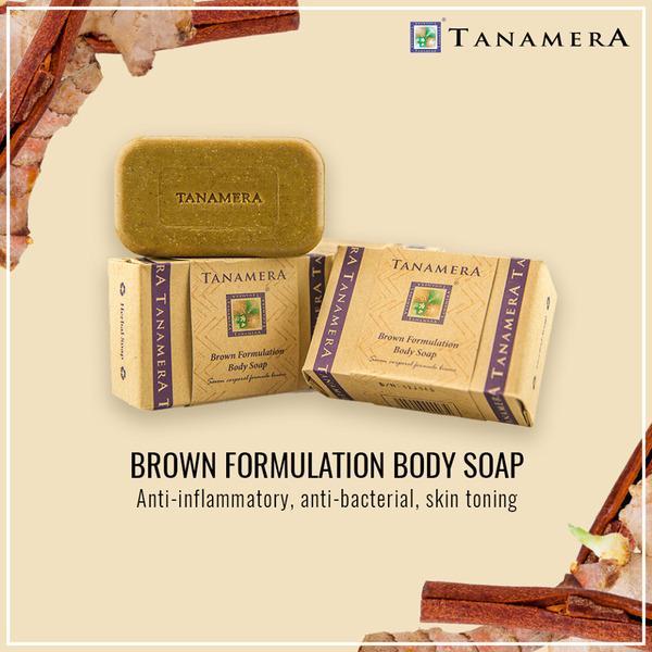 Xà bông tắm Tanamera - Giải pháp trị mụn lưng hiệu quả, an toàn dành cho các chị em