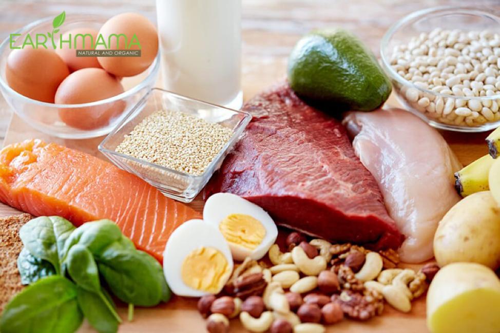 Nên bổ sung thực phẩm, thịt, cá, tôm, trứng