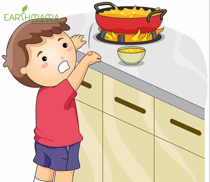 Trẻ có thể bị bỏng ở giai đoạn tập đi