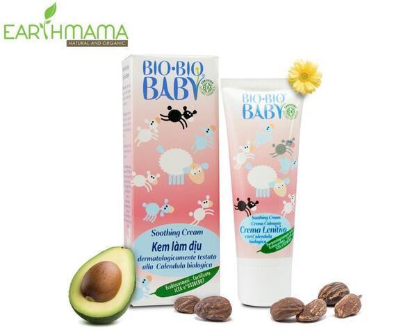 """Chân dung sản phẩm kem dưỡng trị chàm Bio Bio Baby """"làm mưa làm gió"""" tại Earthmama"""