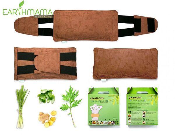 Túi chườm thảo mộc giúp đánh tan mỡ bụng, hỗ trợ giảm cân hiệu quả