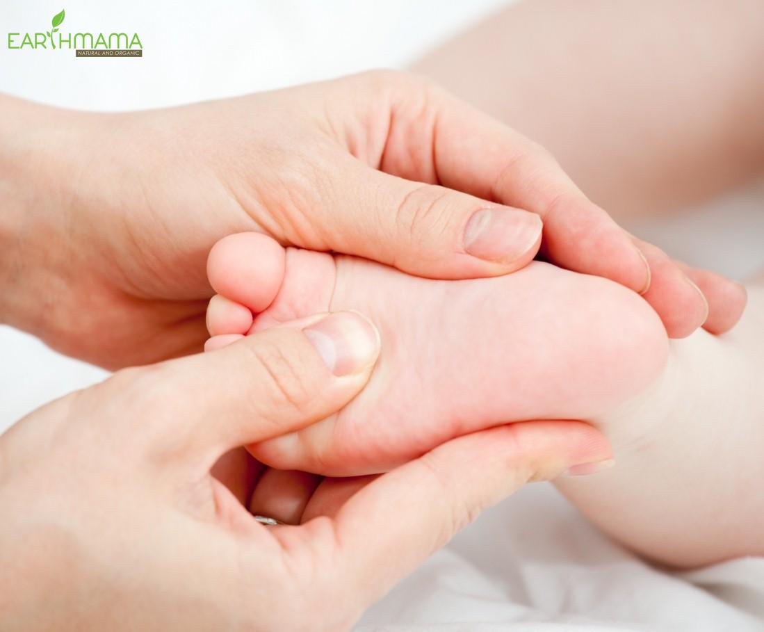 Dầu massage cho bé