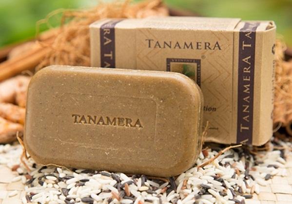 Xà bông nghệ Tanamera giúp làm đẹp sau sinh