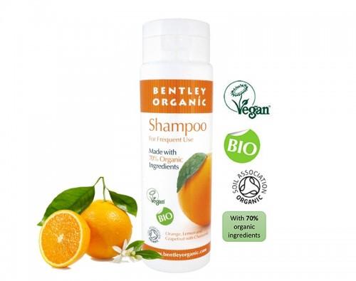 Dầu gội organic bentley hương cam