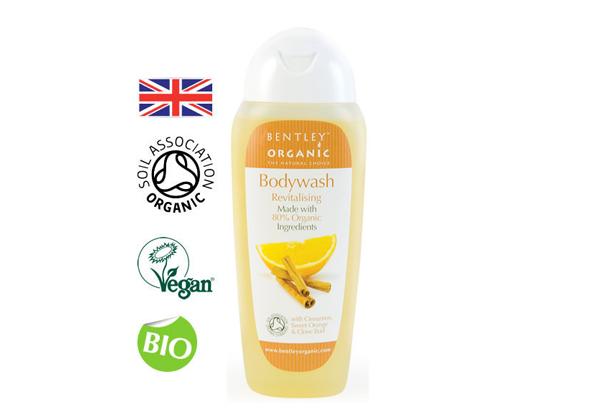 Sữa tắm organic bentley hương quế cam